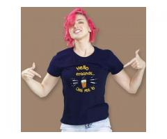 Get Best Graphic T shirts for Girls Online India @ Beyoung