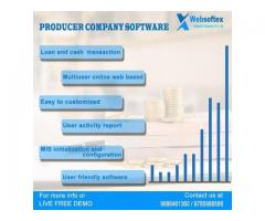 Online producer software provider company