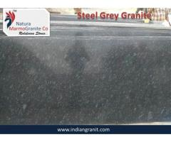Manufacturer of Steel Grey Granite in India Exporter NMG