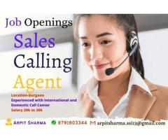 Hiring for Sales Calling Agent