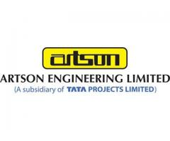 Pressure Equipment Manufacturing - Artson Engineering Limited