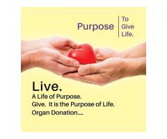 Pledge For Organ Donation-Become A Life Saving Donor