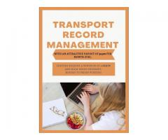 Transport Record Management campaign