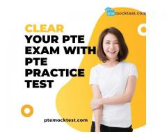 Clear your PTE Exam with PTE Practice Test