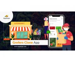 Transform your online grocery delivery dream a reality with Appdupe's Grofers clone