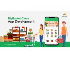 Boost your profits substantially by investing in Bigbasket app clone script development