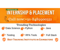 Final Year Project Center in Coimbatore-Internship,Placement in Coimbatore