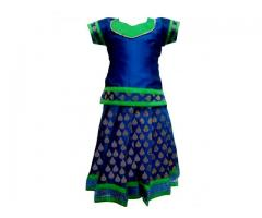 Pattu Pavadai | Traditional dress for girls - Bujuma
