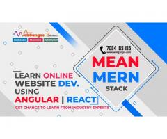 Winter Training and Internship Program in MEAN Stack and MERN Stack