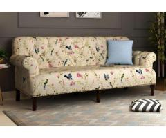 Shop Fabric and Wooden Sofa sets online at Wooden Street