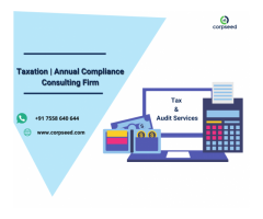 Taxation and annual compliance Consulting Firm